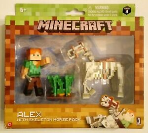 Minecraft series 3 - Spinnenreiter Spider Jockey Sammelfigur mit Zubehör NEU