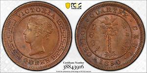Ceylon 1890 1/4 Cent PCGS MS64BN PC0883 combine shipping