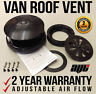 BLACK Rotating Vehicle Roof Vent / Ventilator - for FORD VAN / TRUCK / TRAILER