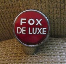 VINTAGE FOX DELUXE BALL TAP KNOB / HANDLE PETER FOX BREWING CO CHICAGO IL