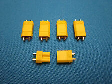 5 PAIR XT30 GENUINE AMASS CONNECTOR PLUG MINI MICRO 2MM BULLET 30A RC