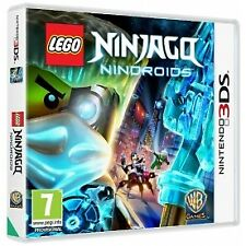 Nintendo 3ds Lego Ninjago Nindroids (nintendo 3ds) VideoGames