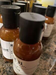 Lot of 13 Le Labo Rose 31 Fairmont 3 oz Shampoo Conditioner 1.4 Oz New
