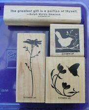 OF THE EARTH 4 UNUSED STAMPIN' UP STAMPS