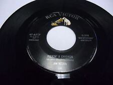 "Jim Reeves Pickin a Chicken / My Lips Are Sealed 7"" 45 rpm RCA Victor VG+"