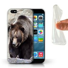 Animaux sauvages Coque Gel pour iPhone 6S/Ours