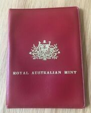 1971 Australia Uncirculated Coin Mint Set - Red Envelope