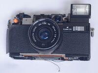 Minolta Hi Matic S2 Body Lens Assembly Vintage Rangefinder Film Camera Parts
