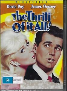 The Thrill Of It All DVD Doris Day New and Sealed Australian Release
