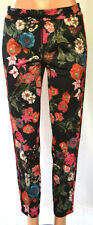 CAMBIO FLORAL PRINT STRAIGHT LEGS 4 PACKETS STRETCH PANTS SIZE 8