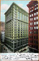 1908 Chicago, IL Raphael Tuck Postcard: Tribune Building - Illinois