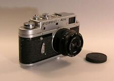 Old Photo.  Zorki-4K Russian Camera