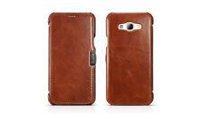 Samsung Galaxy A8 Leather Case Luxury Vintage Brown