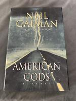 American Gods : A Novel by Neil Gaiman (2001, Hardcover) 1st US Ed