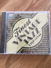 Various Artists - Finest Vintage Jazz (1917-1941, 2002)