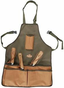 Garden Tool Belt Handy Cuttings Bag Sturdy Pockets Adjustable Apron 58 x 48cm