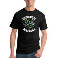 Southside Serpents Riverdale Mens T-Shirt Graphic TV Tee
