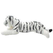 TAGLN Lifelike Stuffed Animals Toys White Tiger Plush Pillows for Kids 19 Inch