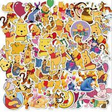 50 Anime Winnie the Pooh Bear Sticker Lot Vinyl Kids Skateboard Laptop Free Ship