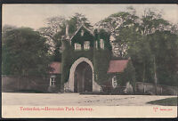 Kent Postcard - Tenterden - Heronden Park Gateway    R171