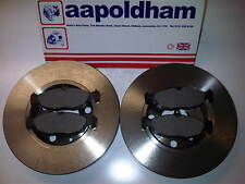 ASTRA/ CAVALIER 1.4 1.6 1.7D 1.8  NEW SOLID FRONT BRAKE DISCS  & PADS SET 85-91