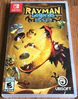 NEW  Rayman Legends Definitive Edition  Nintendo Switch Video Game 100+ Maps NIB