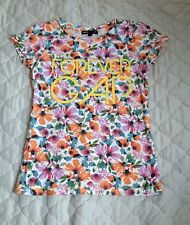 GAP KIDS Girl's Floral Shirt Size Medium 8 EUC