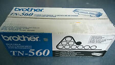 Genuine Brother TN-560 High-Yield Black Toner Cartridge