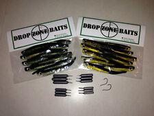 Drop Shot Fishing Starter Kit Drop Zone Baits - Gamakatsu Hooks