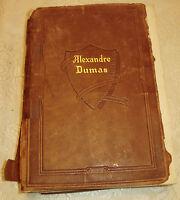 Vintage Book Short Stories By Alexandre Dumas Ten Volumes In One 1927 Swastika
