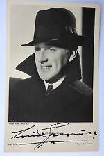 14421 UFA  Foto Autogramm AK Louis Graveure um1938 autograph authentic signature