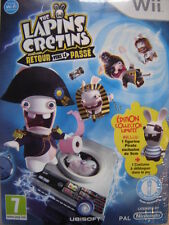 Coffret Collector jeu WII + Figurine The Lapins Crétins retour vers le passé