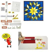 MORTON PORTABLE GLASS SHOP Cutting System Stained Glass Supplies Tools PG01B