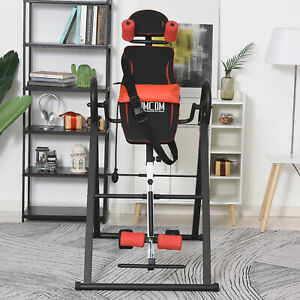 Gravity Inversion Table w/ Safety Belt Back Stretcher Machine Muscle Pain Relief