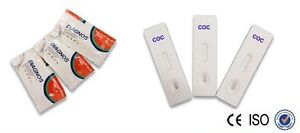 *CLEARANCE*  3 x Cocaine Drug Urine Screening/Testing (3 Tests) Cassette