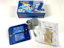 Nintendo 2DS Konsole Pokemon Blaue Version Edition inkl. Spiel in OVP