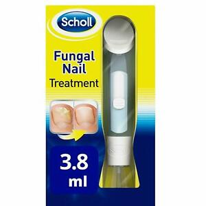 Scholl Fungal Nail Treatment Kill 99.9% Fungus 3.8ml Effective Visible Results