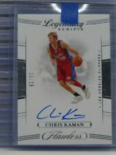 2019-20 Flawless Chris Kaman Legendary Scripts Auto Autograph #15/25 P8