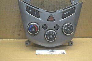 13-14 Chevrolet Sonic Temperature AC Climate 95282238 Control 122-13 bx51