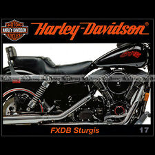 HARLEY-DAVIDSON 17 FXDB 1340 STURGIES 2ème SERIE CUSTOM MANIA CRUISERS SERVI-CAR
