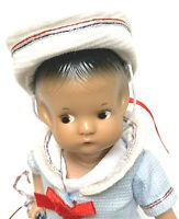 Vintage Effanbee Doll July Girl 1988 Patsyette 9605 New York