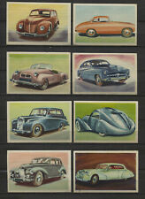 Lot of 24 Car Vintage 1950s Rare Dutch Trading Cards