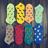 1 Pair Women Girls Fruit Vegetable Cotton Low Cut Boat Summer Ankle Socks Newly
