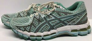 RARE COLORWAY ASICS Gel-Kayano 20 Women's Size 7.5 T35CQ MINT GREEN COLOR