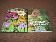 2 gardening books including Blooming Bellamy