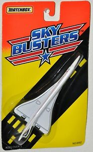 Matchbox Sky Busters British Airways SST Tyco 1994 Die Cast Metal Planes