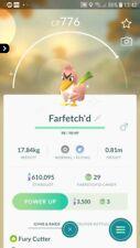 Shiny Farfetch'd Trading Pokemon GO
