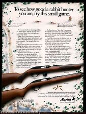 1988 Marlin 995, 60 Semi-Automatic .22 Rifle Ad~Collectible Firearms Advertising