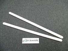 2 X 250mm varillas de agitación de polipropileno Agitador de laboratorio de 10mm de ancho