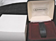 Synchronar LED Sunwatch watch  box.  Very NIce, with outer sleeve.